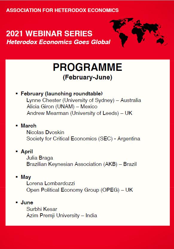 AHE Webinar Full programme