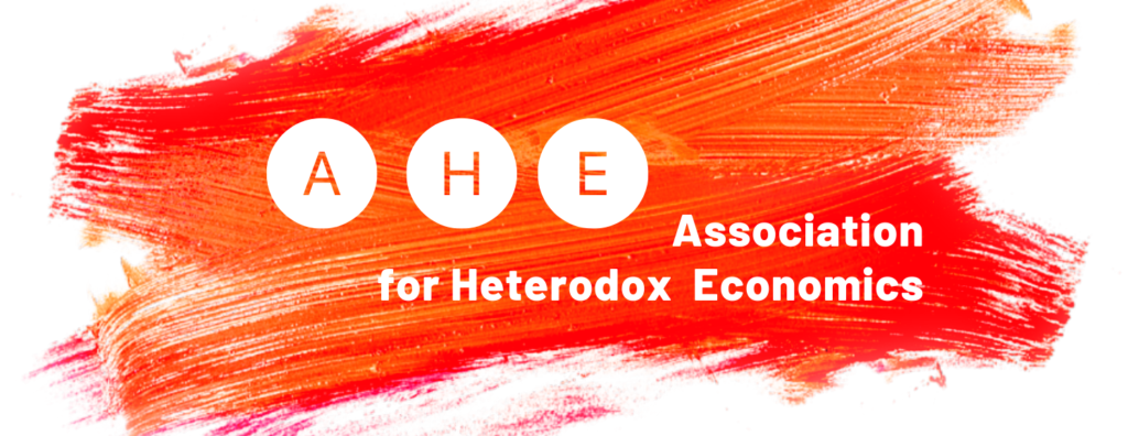 AHE - Association for Heterodox Economics logo